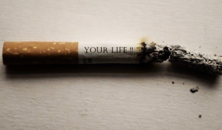 5 sinais do tabagismo